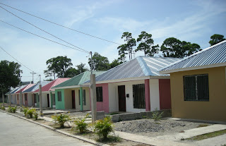 typical houses, new colonia, La Ceiba, Honduras
