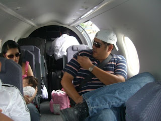 Zelaya's family on jet