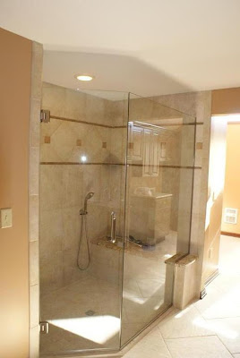 Interior Design Designing A Shower Wall With A Curved Or