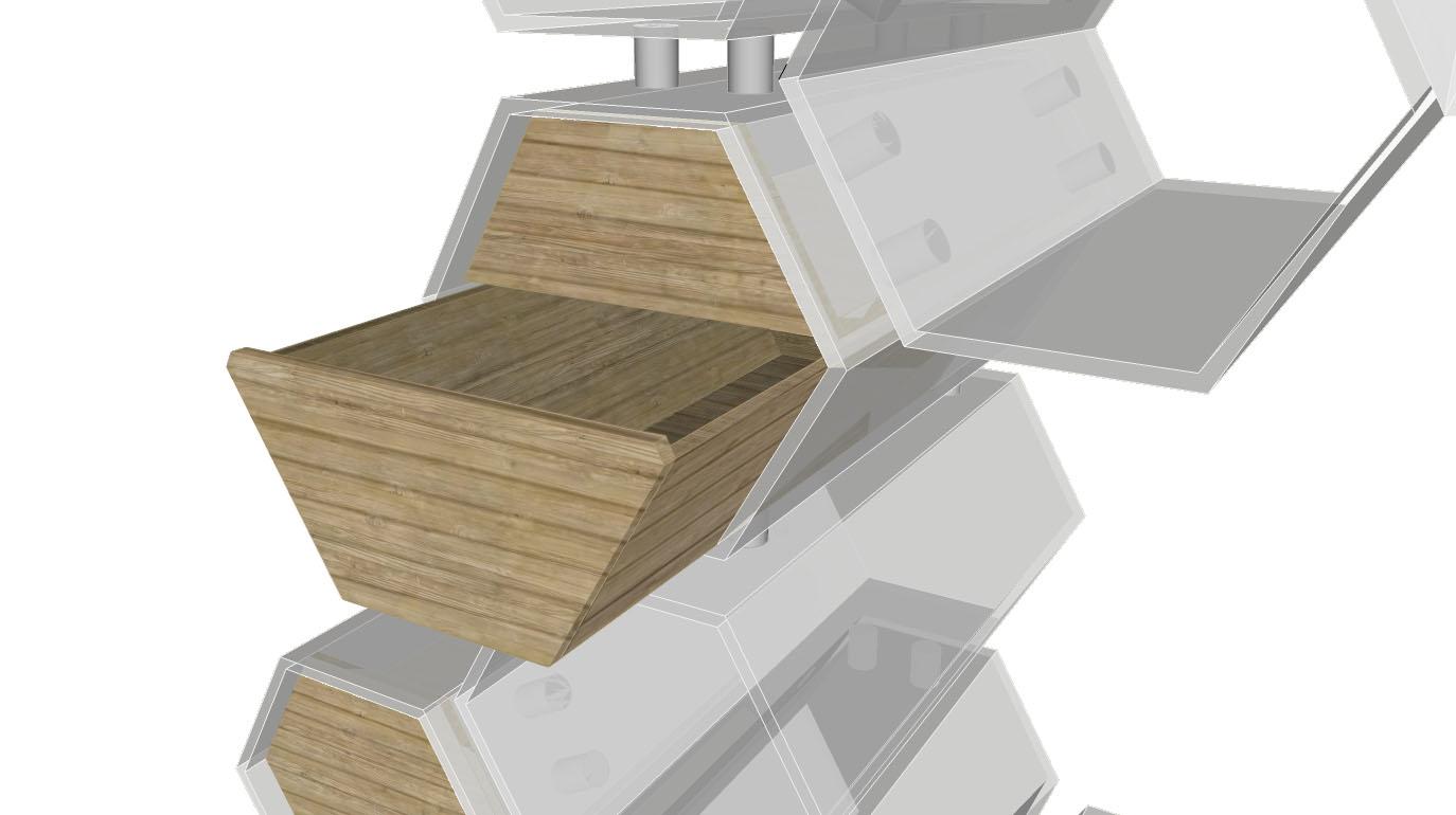imaginer cr er ruches urbaines des abeilles sur vos toits. Black Bedroom Furniture Sets. Home Design Ideas