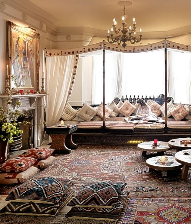 Style moroccan interior design - Moroccan themed living room ideas ...