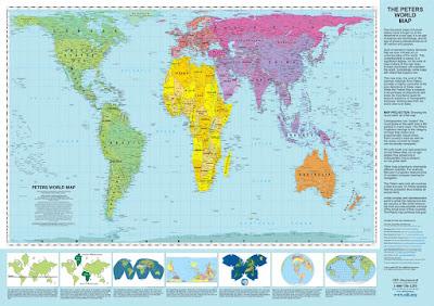 mapa mundi verdaderas dimensiones reales tierra mundo arno peters blog bogota