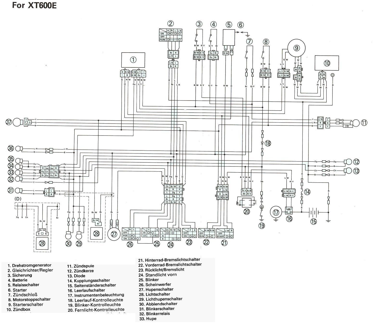 Yamaha Virago 920 Ignition Wiring Diagram