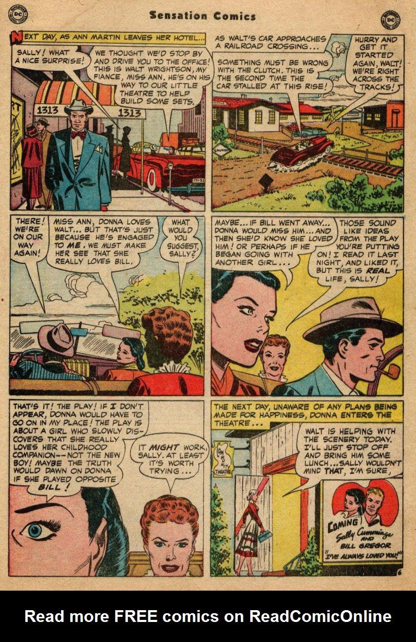 Read online Sensation (Mystery) Comics comic -  Issue #100 - 47