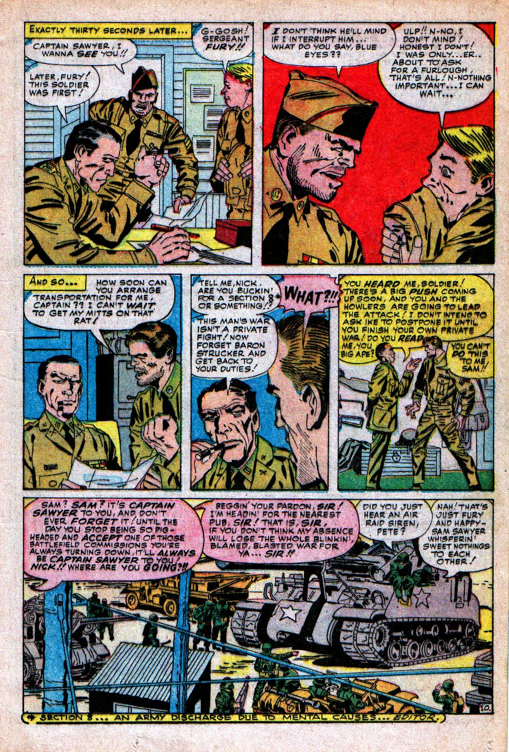 Read online Sgt. Fury comic -  Issue #5 - 13