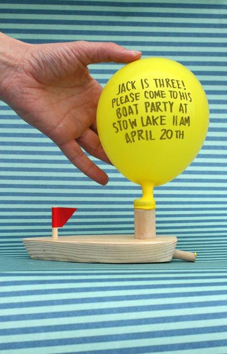 boat invitations