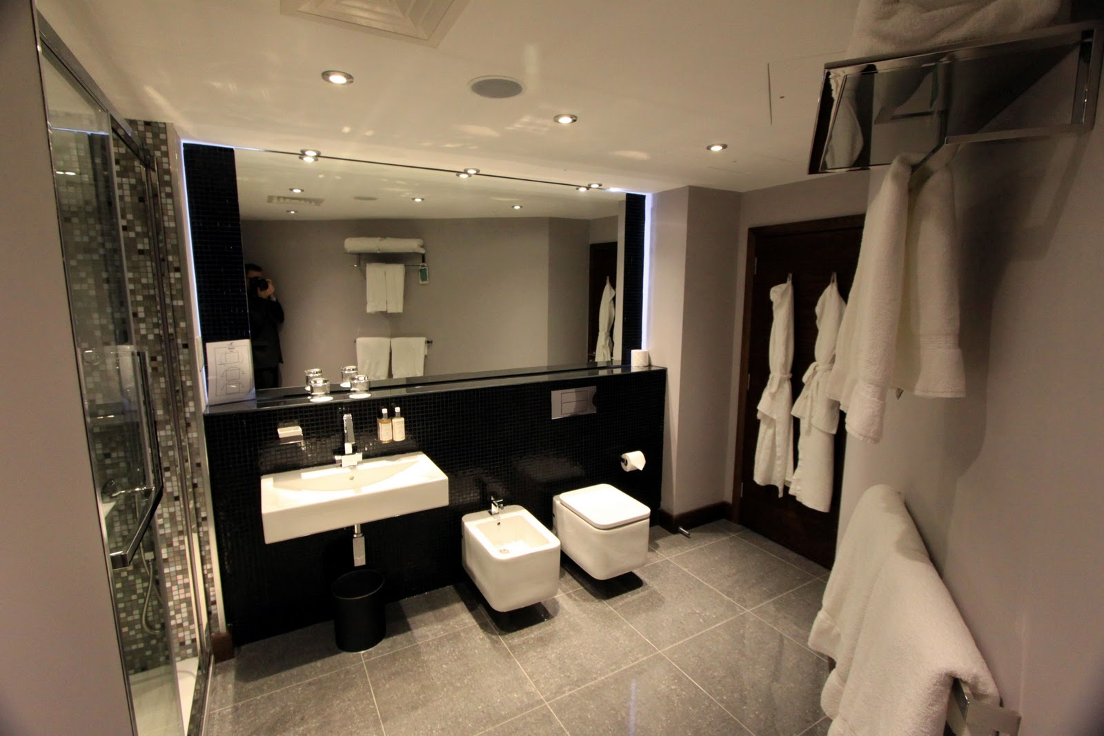 London Hotel Room With Toilet