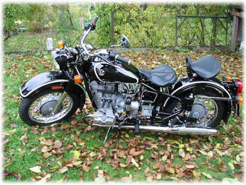 motorcycles picture classic motor new motorcycle pictures ural retro solo 2009. Black Bedroom Furniture Sets. Home Design Ideas