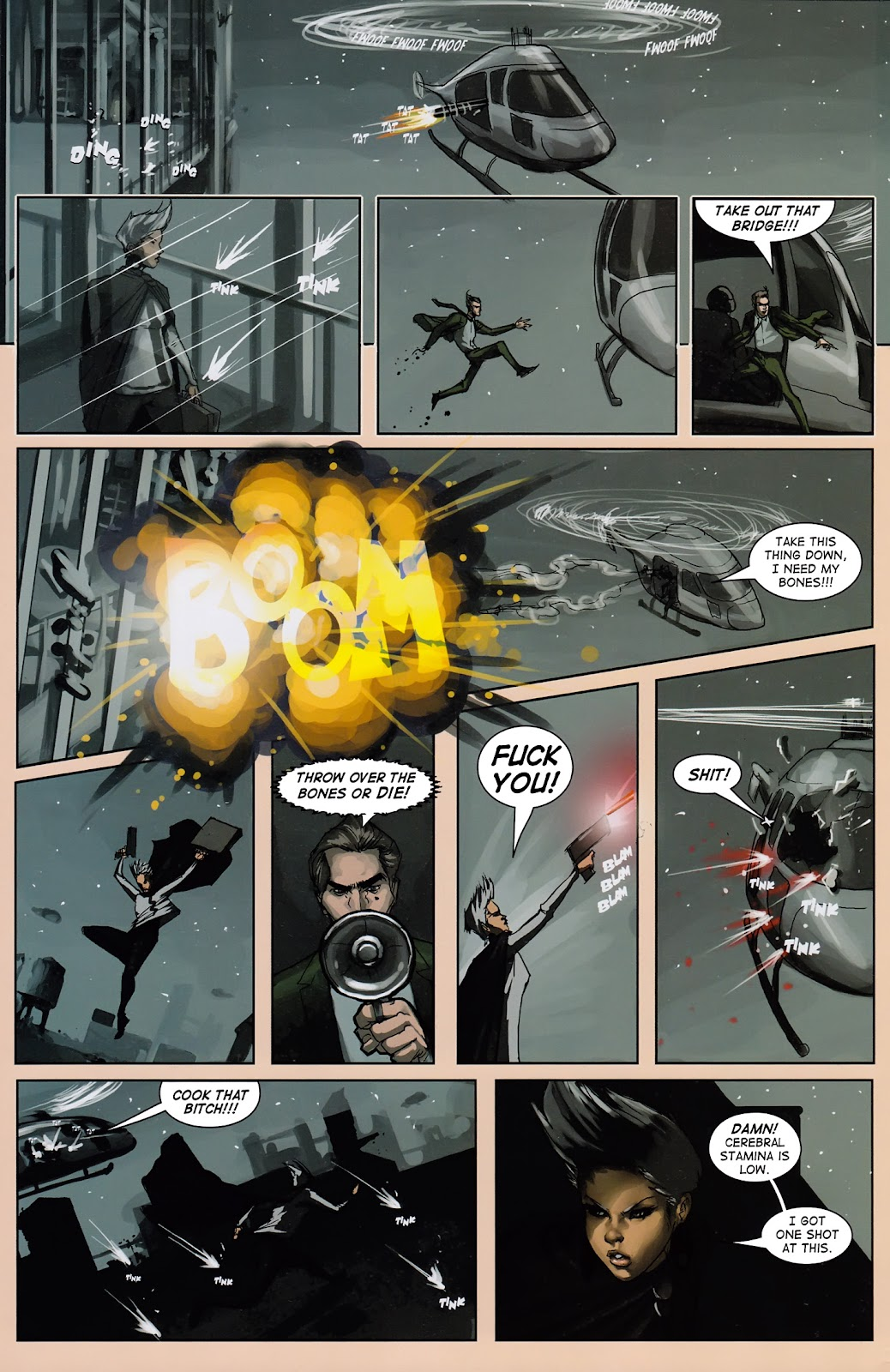Read online Vescell comic -  Issue #3 - 26