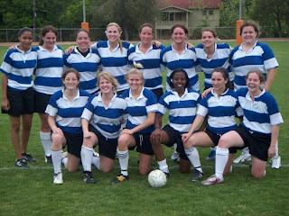 SHSU Women's Rugby: October 2009