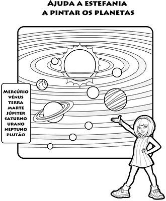 Centro De Atividades Escolares Josefa Krysiaki Sistema Solar
