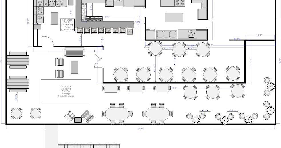 Craigslist Fort Walton Beach >> Monkey Face, LLC: Roof Top Restaurant Floor Plan- RENTED