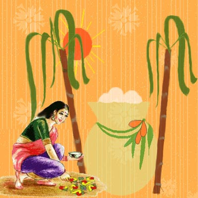Pongal Greetings Tamil Thai Pongal Wishes Wallpapers