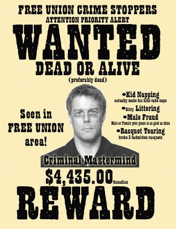 Criminal Wanted Poster - Windenergyinvesting - criminal wanted poster