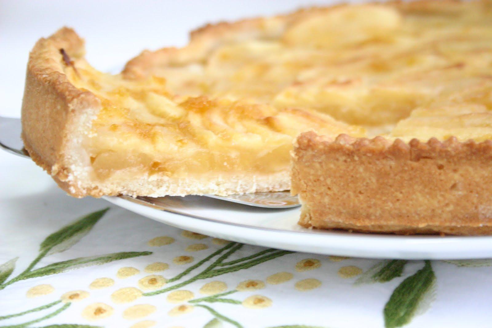 Dolcimanontroppo torta di mele e noci for Crostata di mele