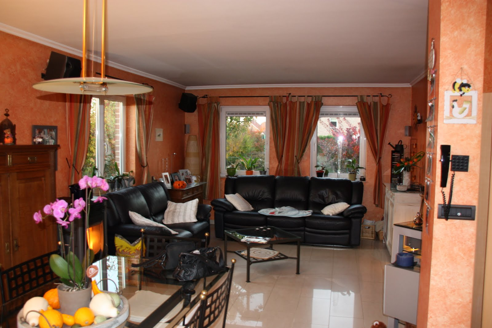D coration et architecture d 39 int rieur salon salle a - Salon salle a manger ...
