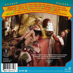 Britney Spears Spy quotCircusquot Back CoverBritney Spears Circus Deluxe Edition