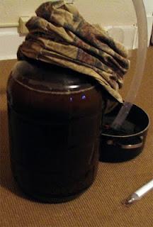 Fermenting Brown Ale