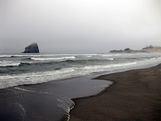Pacific City Haystack Rock - 1 mile out