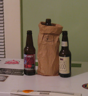 Short's Bloody Beer, DFH Liquor de Malt, and Bell's Batch 6000.