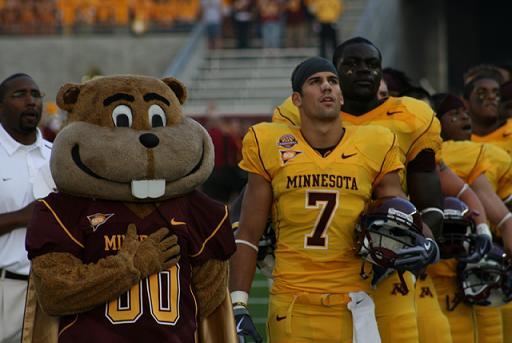 Minnesota Golden Gophers: 1st Gopher football spring game