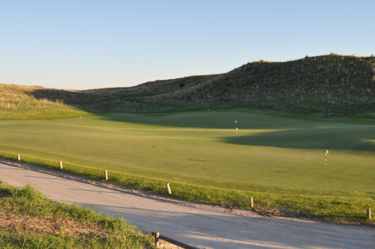 Now On the Tee: Sand Hills Golf Club