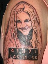 5e04677ad Bad Tattoos: Sheri Moon Zombie from the The Devil's Rejects