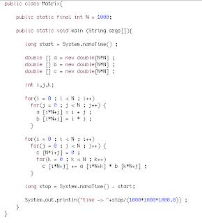 MPJ Express Blog: Overhead of using Multi-dimensional arrays