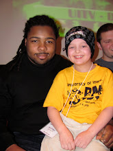 Adrian Clayborn (Iowa Hawkeye Football player, now Tampa Bay Buccaneers) and Oliver