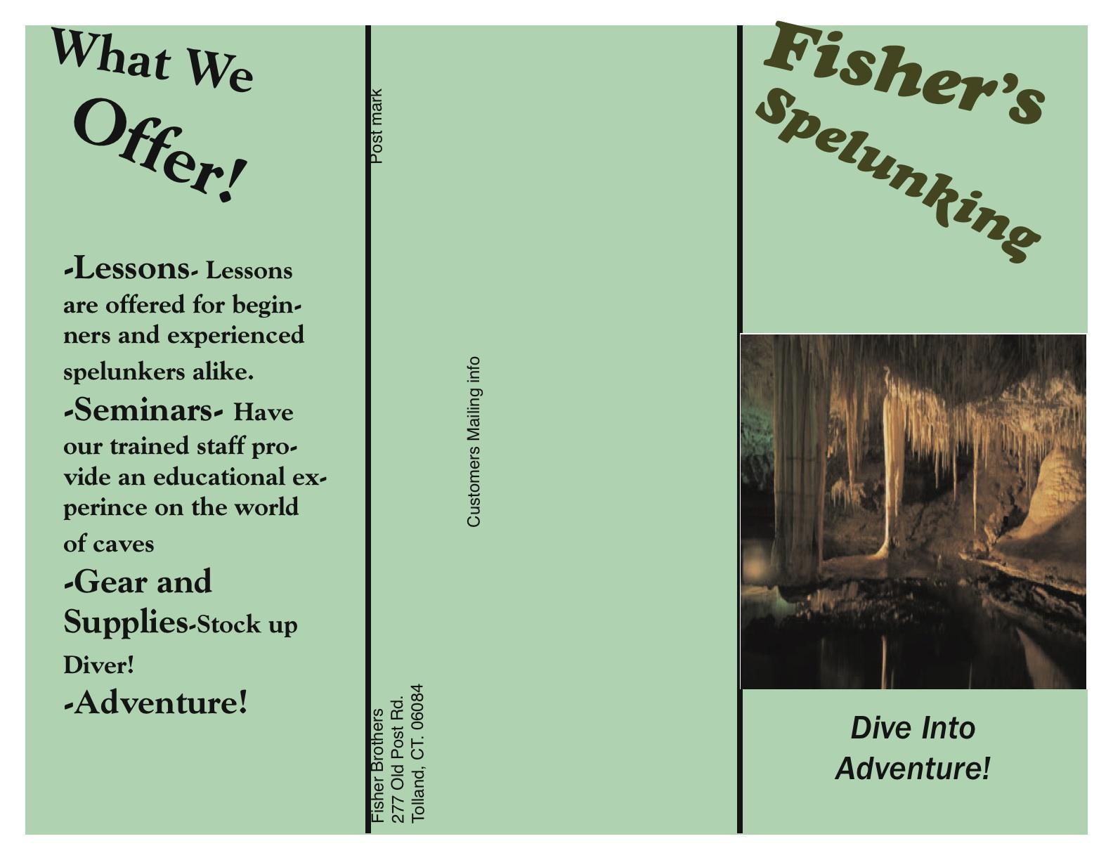 jacob fisher 6 panel brochure