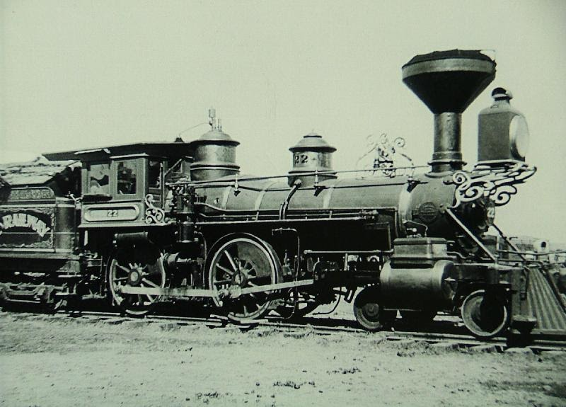 Railroads in the 1800s: History for kids |Steam Engine Train From 1800s