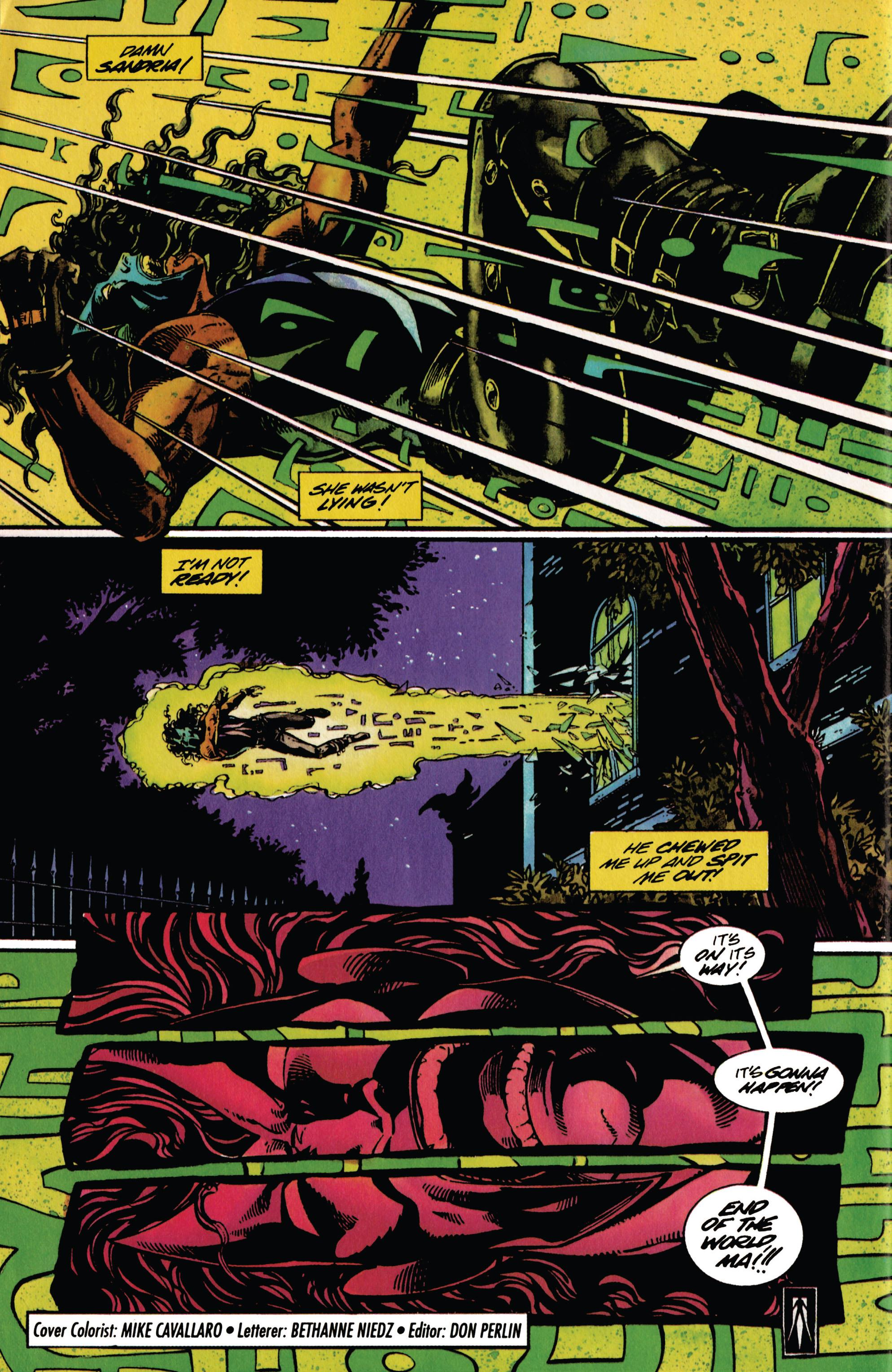 Read online Shadowman (1992) comic -  Issue #28 - 22