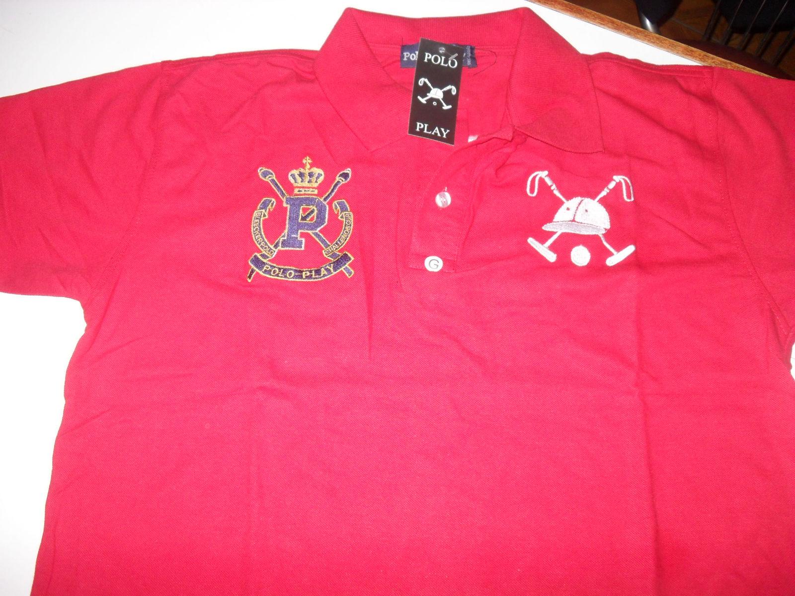 4eaf0bb45358b camiseta polo POLO PLAY - VERMELHA