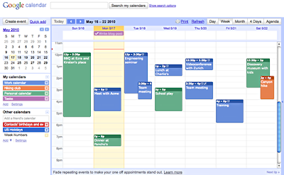 Create Calendar Event Google Api