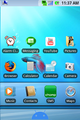 windows 7 for android launcher