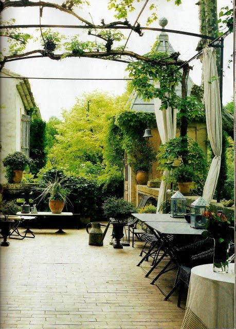 Inspired Living Spaces A French Country Garden