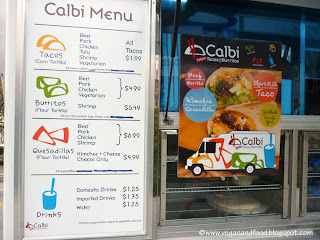 Calbi Food Truck Los Angeles