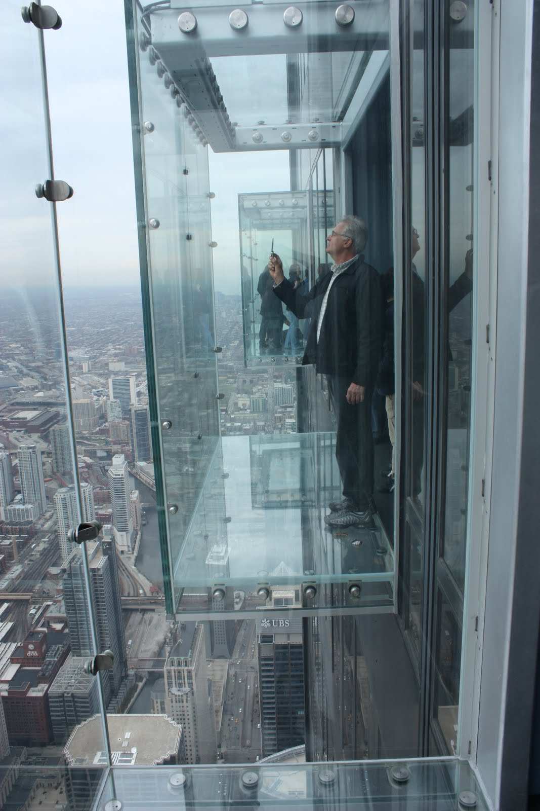 Willis Tower Glass Floor