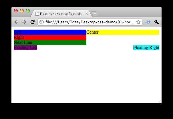 Trisha's Ramblings: CSS for Developers: The Joy of Floats