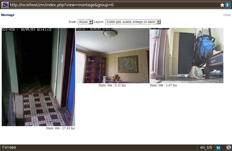 Mr Cleaner's_Lab: Видеонаблюдение под Ubuntu для