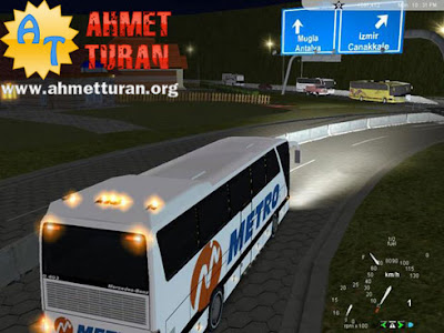 18 wheels otobüs oyunu indir
