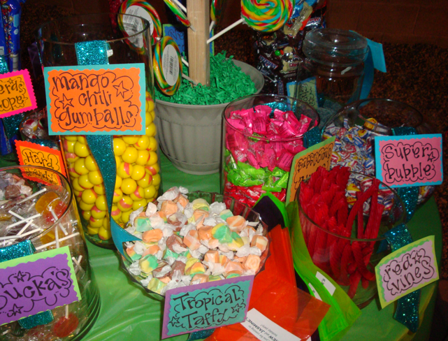 Candy Themed Birthday Cheer Up With Food