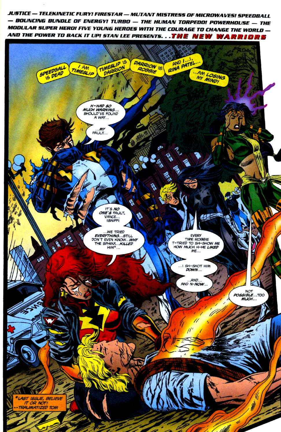 The New Warriors Issue #70 #74 - English 2