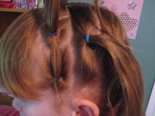 Rows of Three | Cute Hairstyles - Step 5