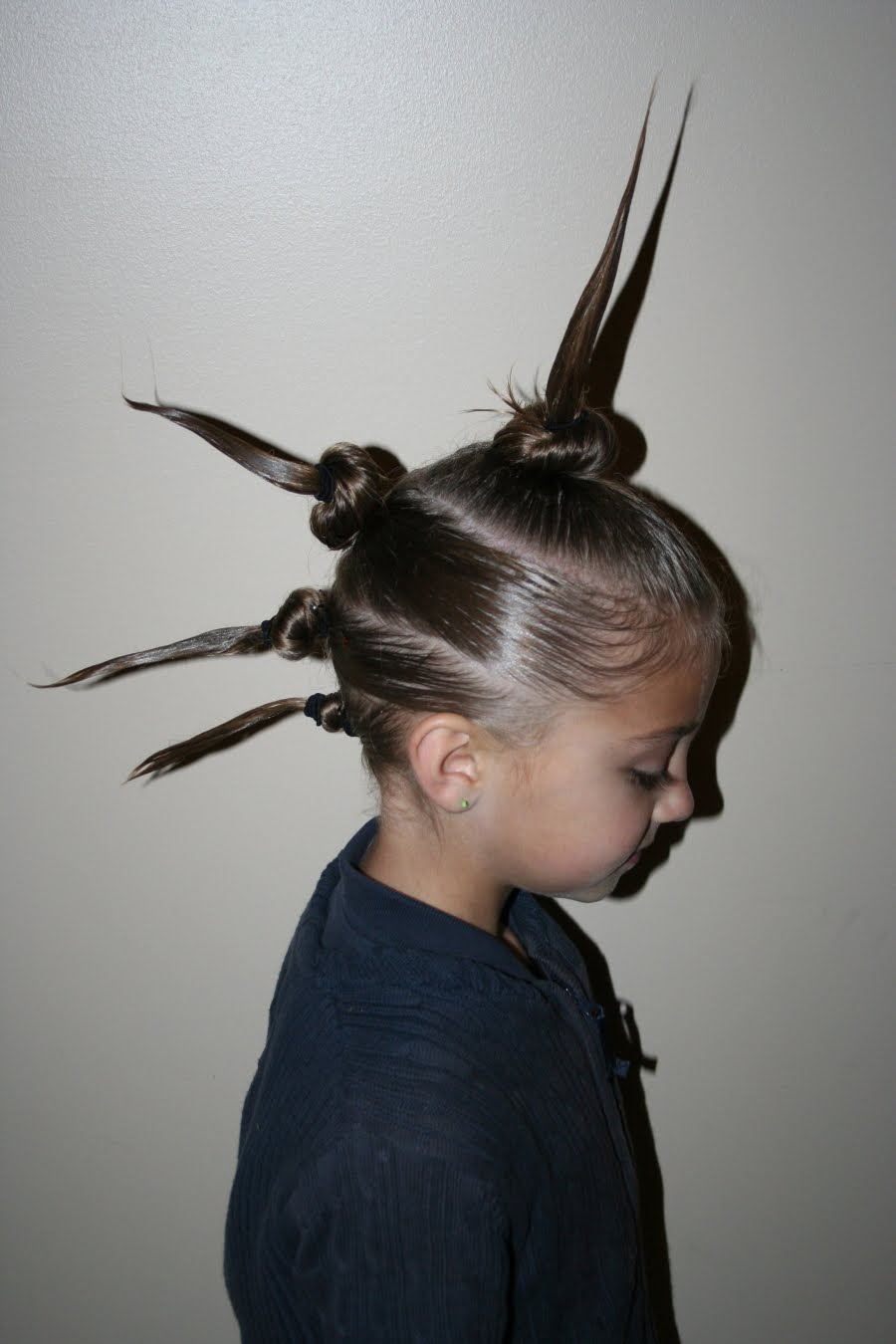 Surprising Our Crazy Hair Day Cute Girls Hairstyles Hairstyles For Men Maxibearus