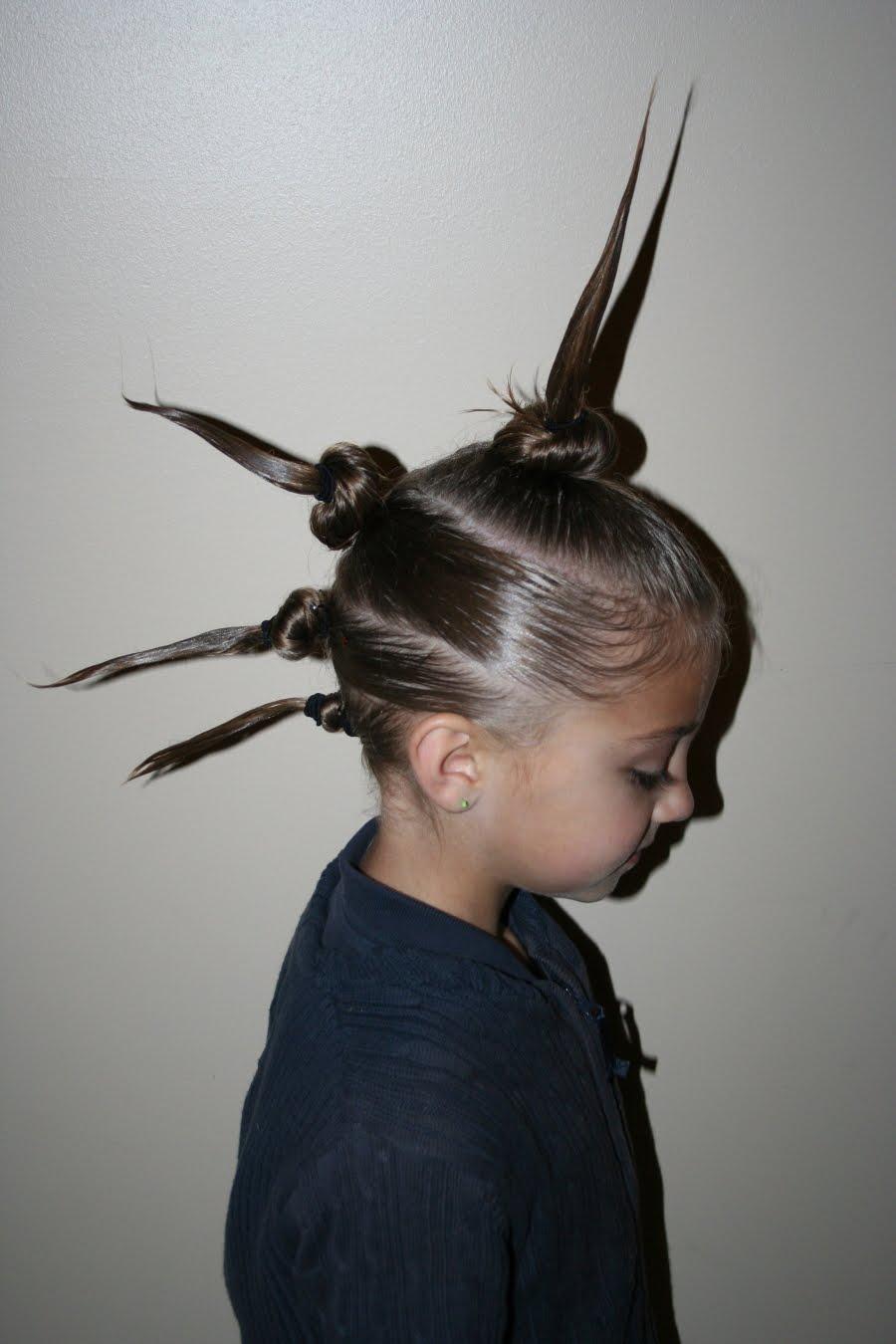 Strange Our Crazy Hair Day Cute Girls Hairstyles Short Hairstyles For Black Women Fulllsitofus
