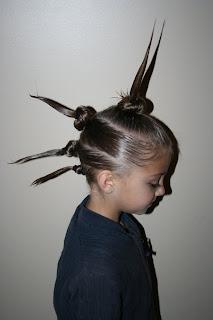 Crazy Hair Day 5