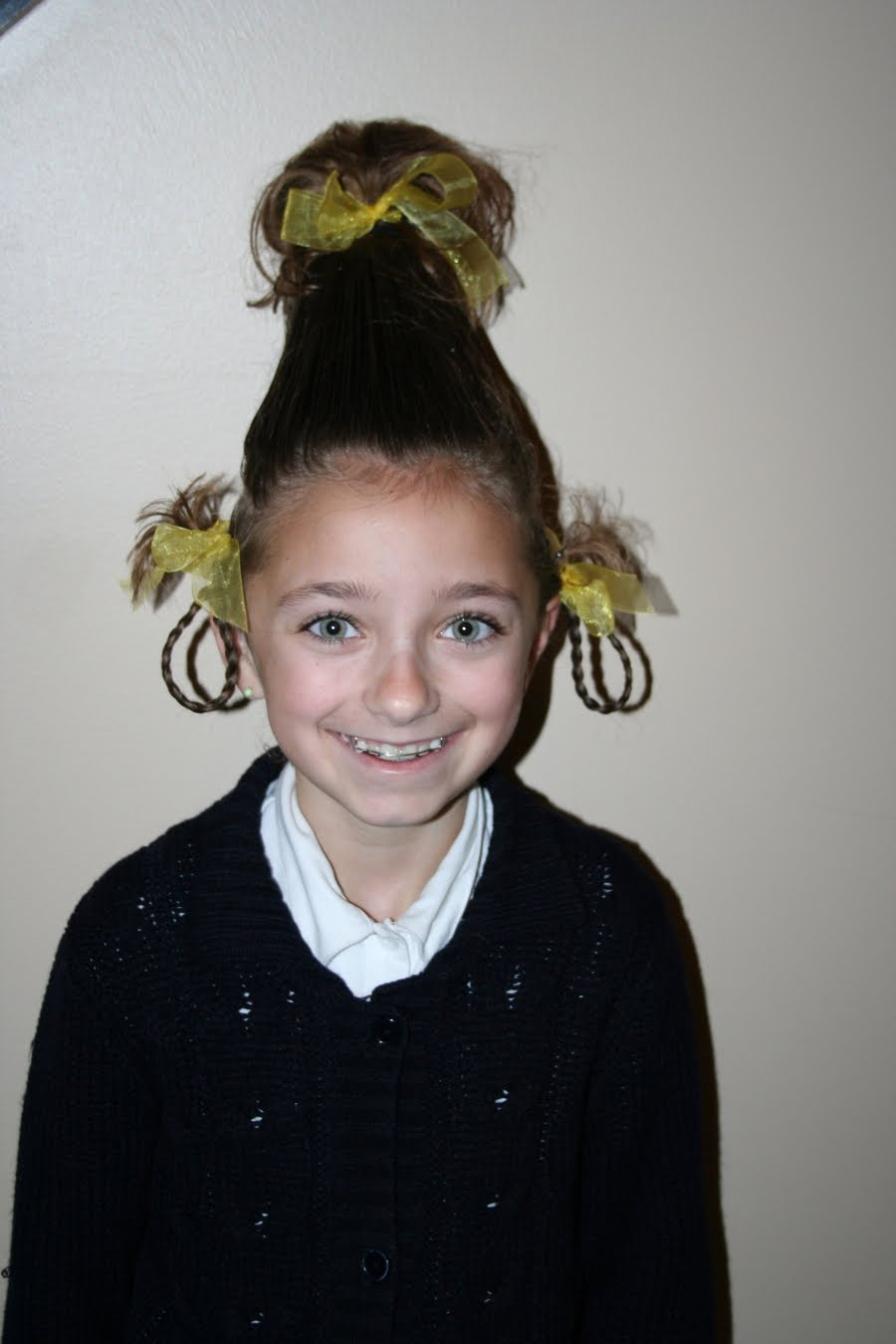 our crazy hair day…   cute girls hairstyles