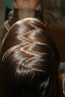 How To Do A Zig Zag Part Cute Girls Hairstyles