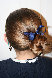 Ribbon and Bun #1